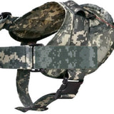 Tactical k9 dog harness vest camo army acu thick big