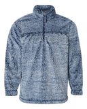 blue sherpa jacket