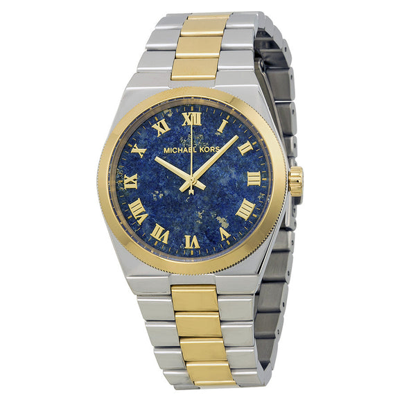 2859346a3f1 MICHAEL KORS Channing Blue Lapis Dial Two-tone Ladies MK5893