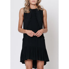 Sea Salt Dress - Black