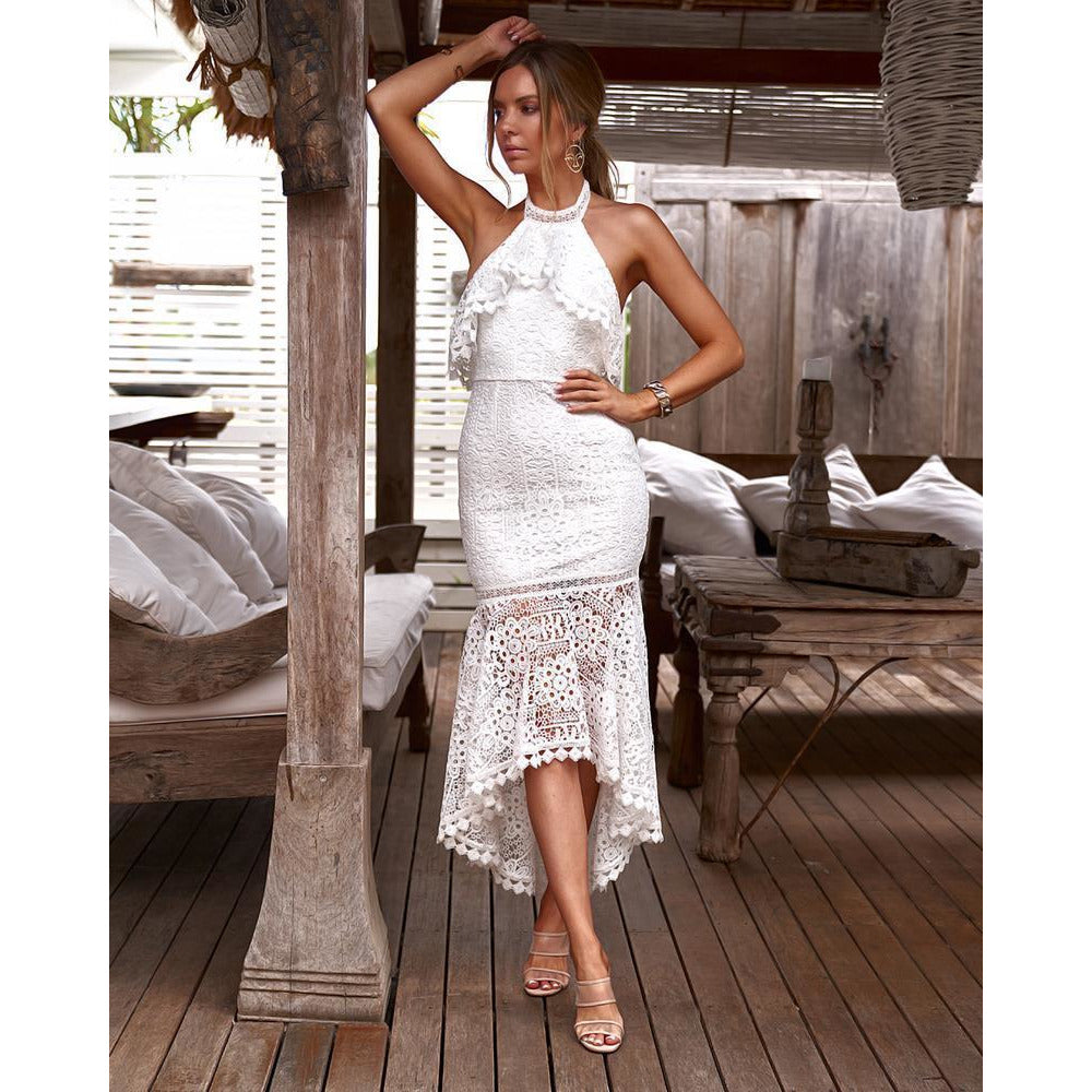 Janelle Dress - White