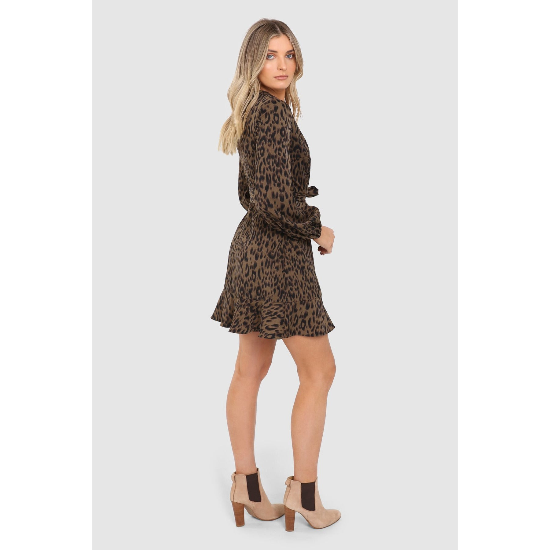 Callie Dress - Khaki
