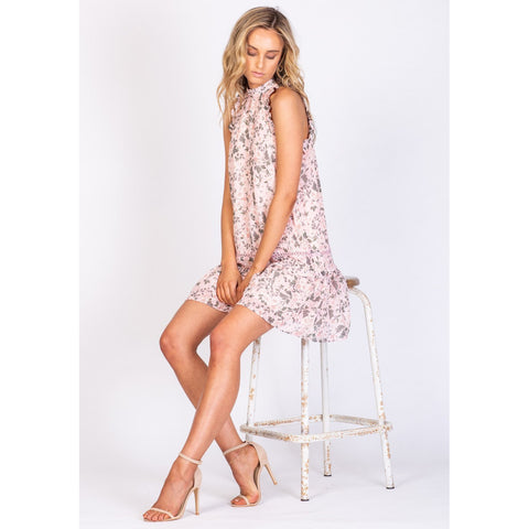 Boardwalk Floral Manhattan Dress - Floral Print