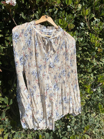 Floral Blouse - Cream