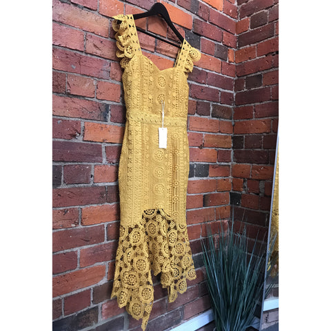 Giselle Dress - Mustard