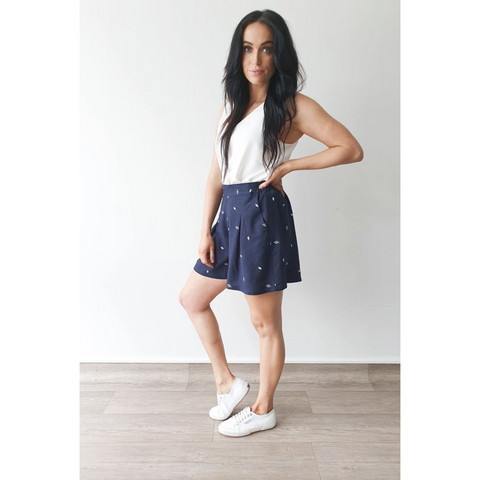 Ruby Shorts - Navy