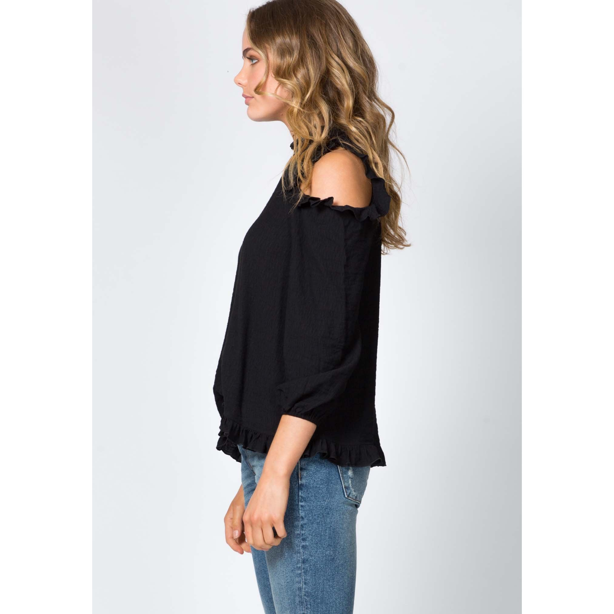 Illustrator Blouse - Black