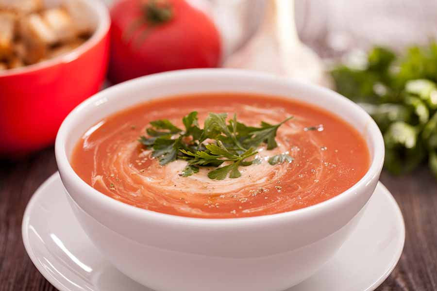 Tomato Soup with Aromatic Spices