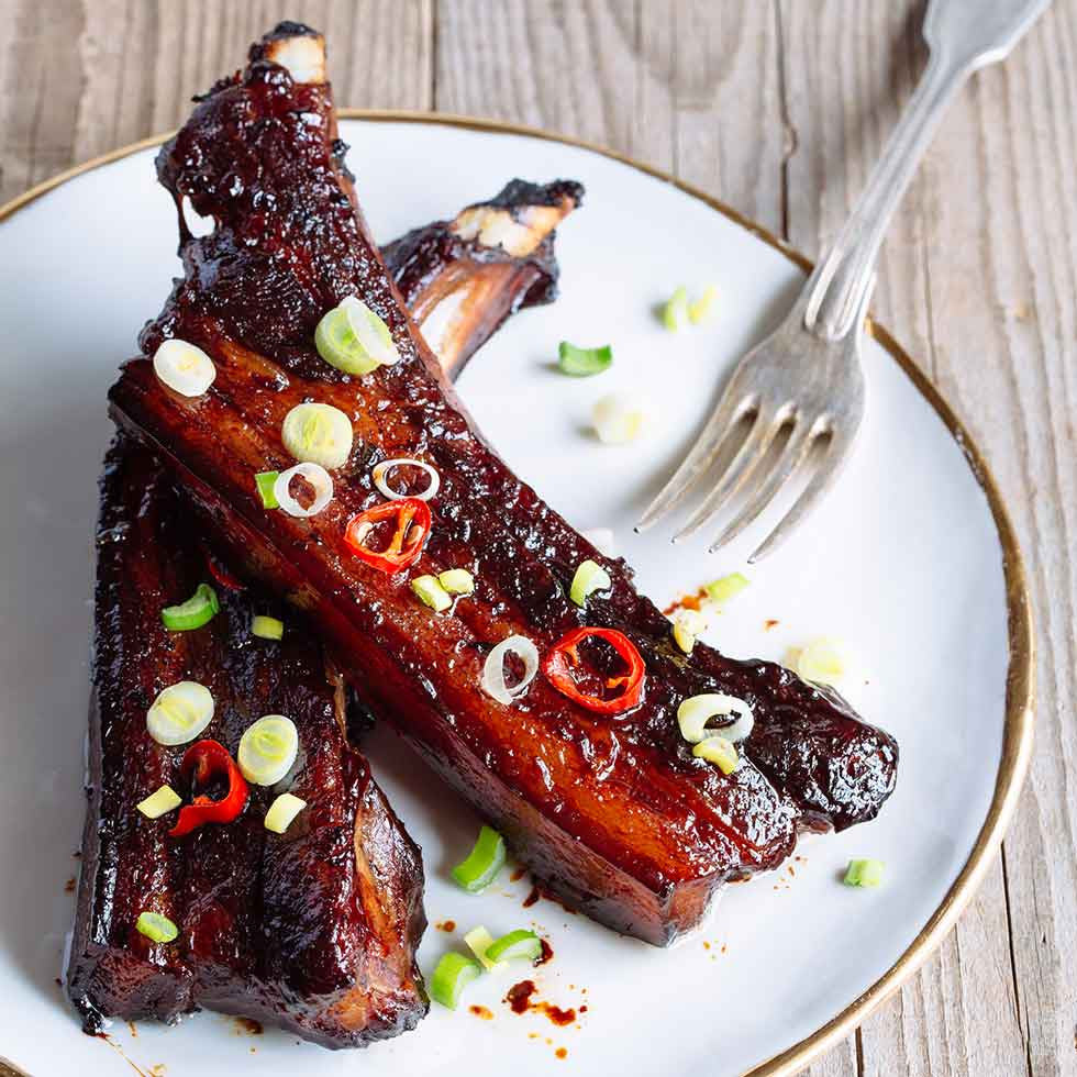 BBQ Sticky Pork Ribs 3