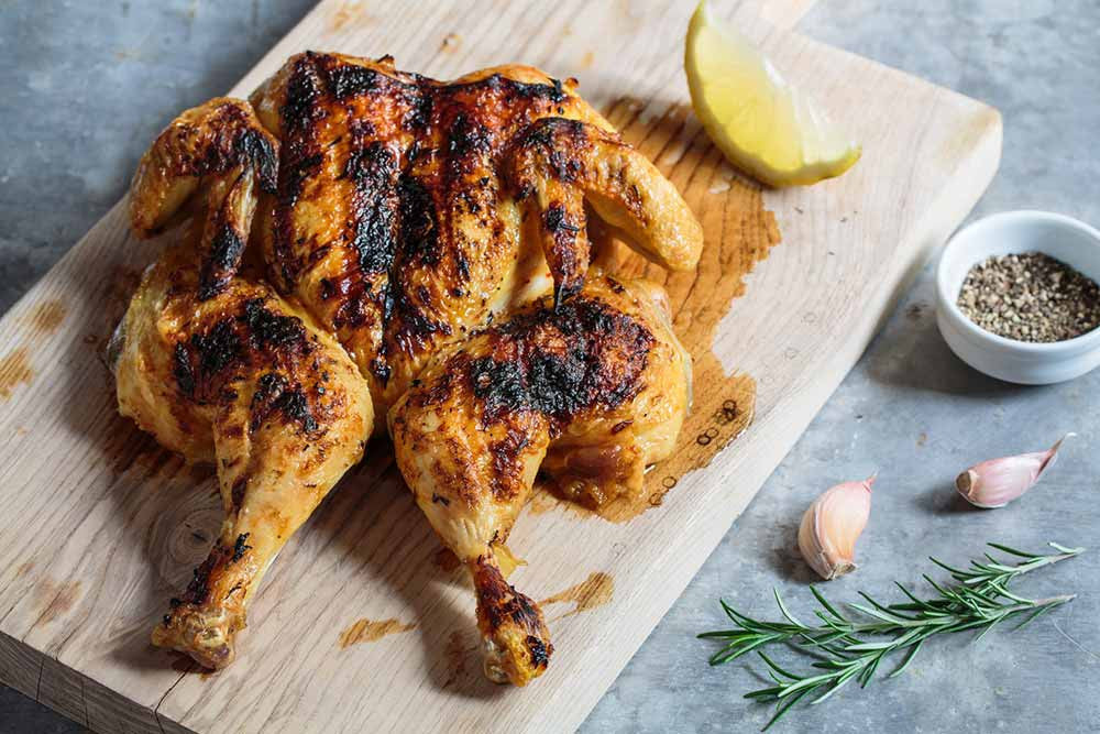 Grilled Butterflied Chicken with Spicy Rub 1