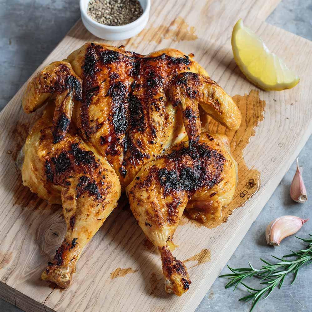 Grilled Butterflied Chicken with Spicy Rub 3