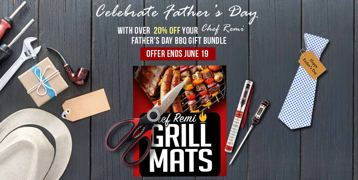 Chef Remi Fathers Day BBQ Gift Bundle