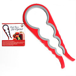 Chef Remi Jar Opener & Bottle Opener - Free + Shipping