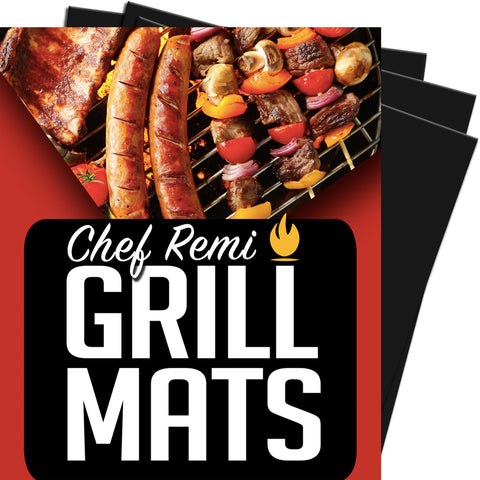 BBQ Grill Mat (set of 3)