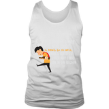 Mens Tank Top - Cooking with Wine