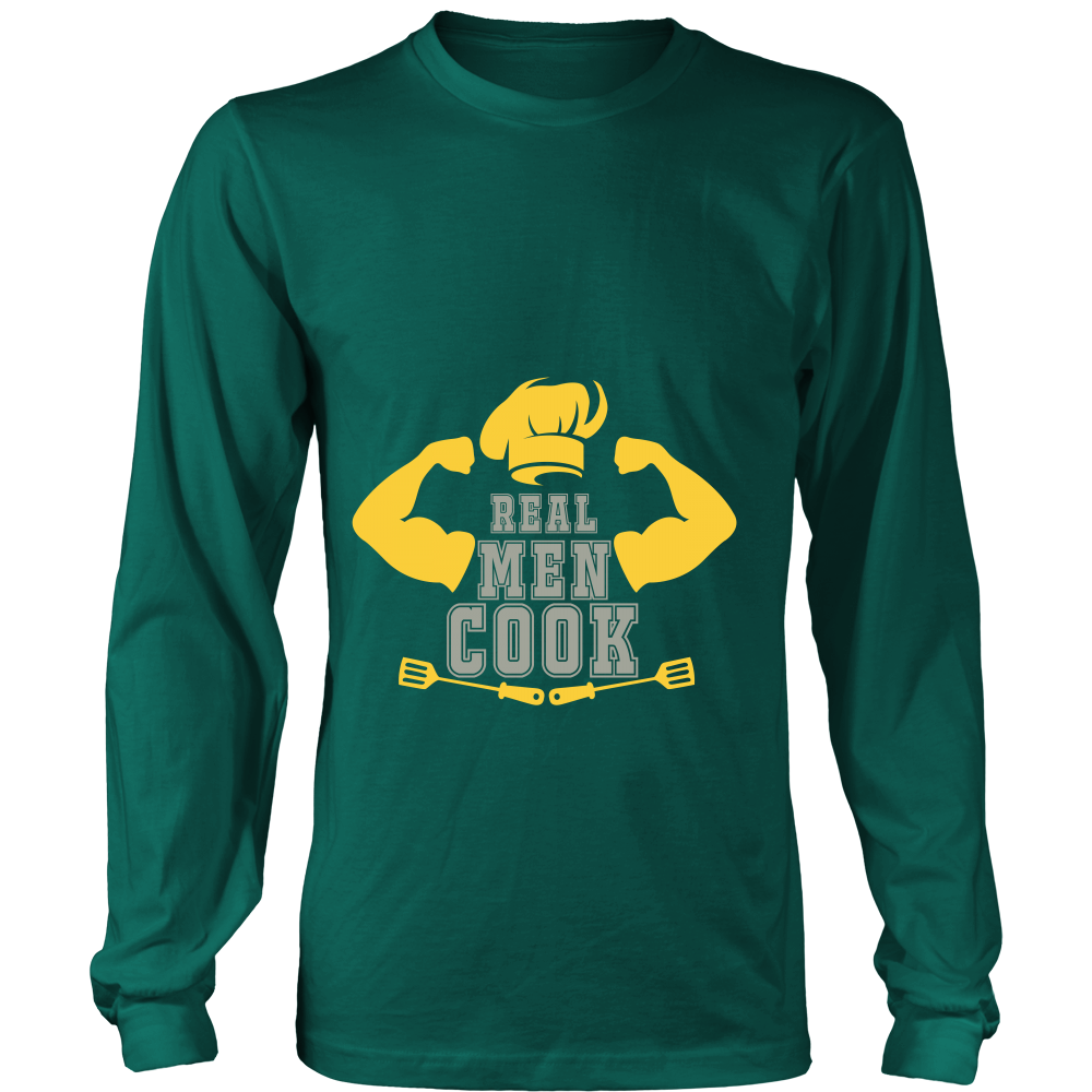 Long Sleeve Tee - Real Men Cook