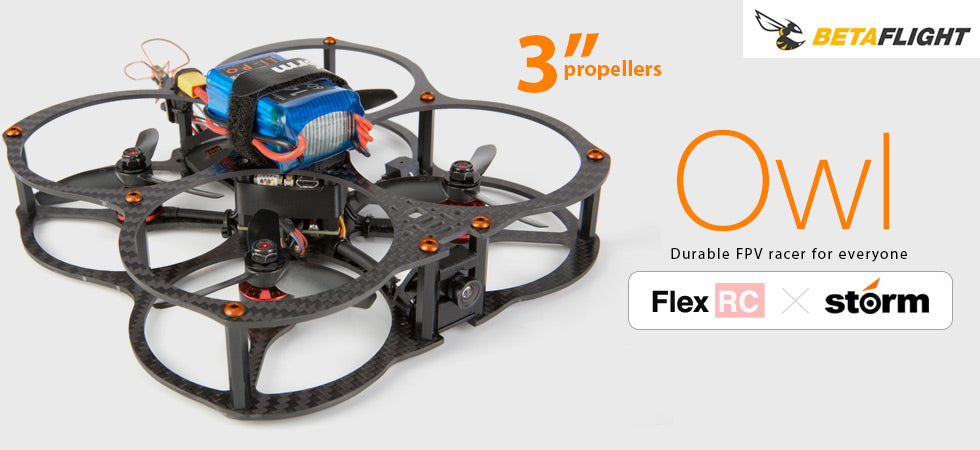 FlexRC Owl Storm Edition (Storm Racing Drone)