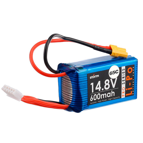 Storm 14.8V 600mAh Pro Series Li-Po Battery