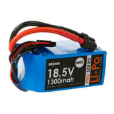 Storm 18.5V 1300mAh Pro Series Li-Po Battery