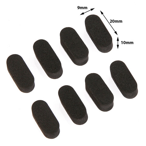 Storm Neoprene Landing Pads (9mm / Black)