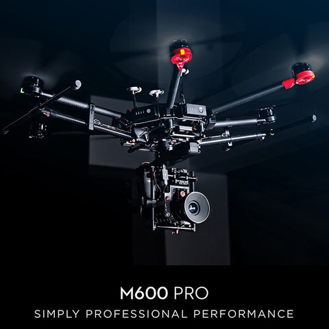 DJI Matrice 600 Pro Flying Platform (RTF)