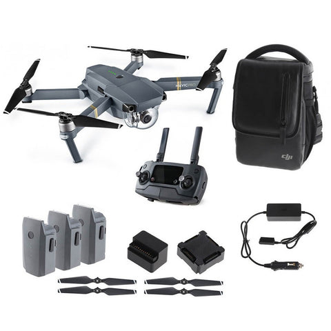 DJI Mavic Pro Foldable GPS Drone + Fly More Combo RTF