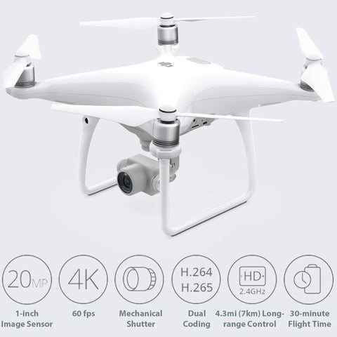 DJI Phantom 4 Advanced+ GPS Drone (RTF / Includes Display)
