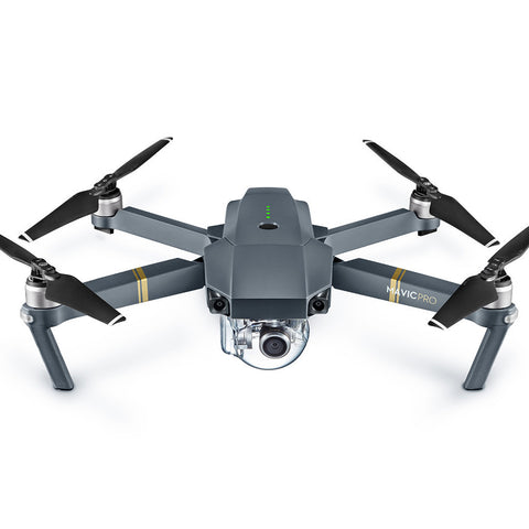 DJIMV-42 Mavic Pro Aircraft Only (Excludes Remote Controller and Battery Charger)