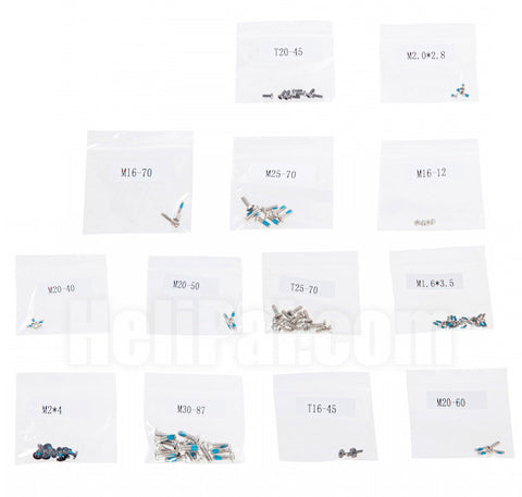 DJIP4-033 Screw Set (P4 Only)