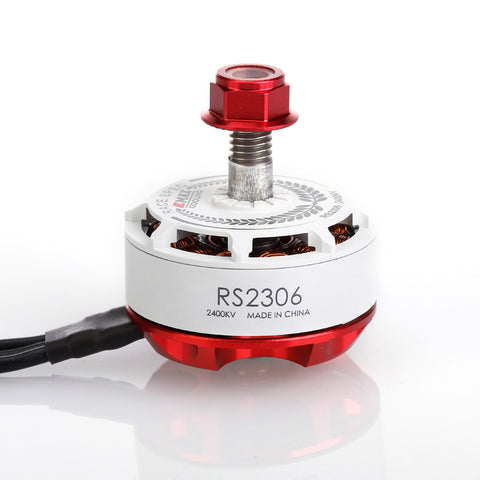 Emax RS2306 White Edition RaceSpec Motor - Cooling Series (2400kv)