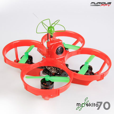 Furious Moskito 70 Micro FPV Racer (BNF / FrSky Rx)