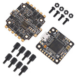 HGLRC XJB F425 OMF4-OSD FC + BS25A 4-in-1 BLHeli_S Micro Stack