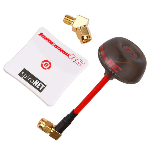 ImmersionRC SpiroNET V2 5.8GHz Diversity Antenna Bundle (SMA male / RHCP / 8dB)