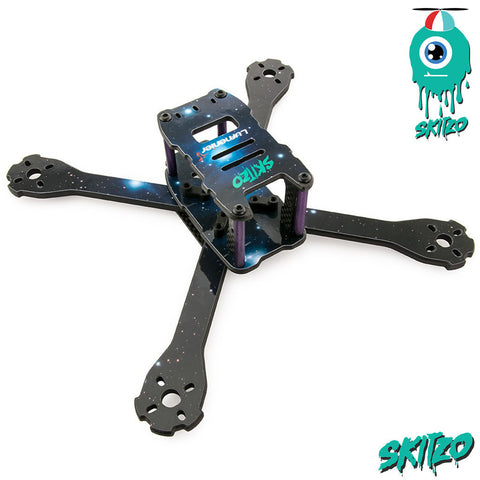 Lumenier QAV-SKITZO Dark Matter FPV Freestyle Quadcopter Frame Set (5