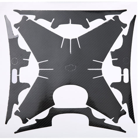 PGY-Tech Sticker Set for Phantom 4 Pro (Gloss Carbon)