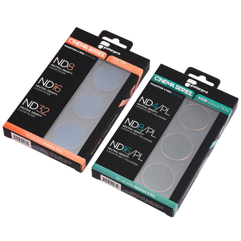 Polar Pro Cinema Series for P4 Pro (6 Filters)