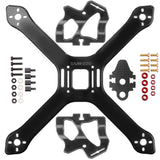 "SamHobby X220 Composite Frame (Black Carbon / 5"" to 6"")"