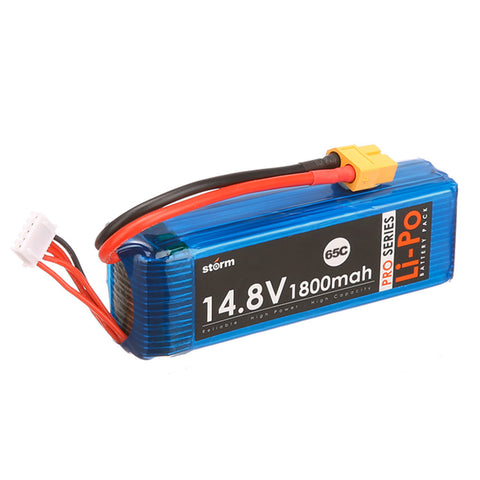 Storm 14.8V 1800mAh Pro Series Li-Po Battery