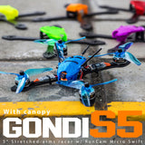 STORM Racing Drone (Gondi-S5 + Canopy / T-Motor Spec)