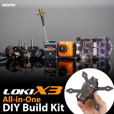 STORM Racing Drone (DIY Kit / Loki-X3)