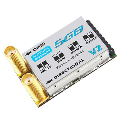 Fat Shark 5.8GHZ 32ch Dual SMA V2 Module (FSV2445)
