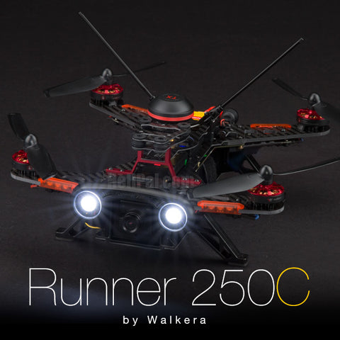 Walkera Runner 250C Racer (RTF / CleanFlight / 800TVL Cam)