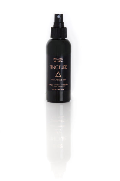 TINCTURE TONING MIST with BOTANICAL + CRYSTALINE ENERGY CLEARING - REMEDY S+B Advanced Naturopathic Beauty