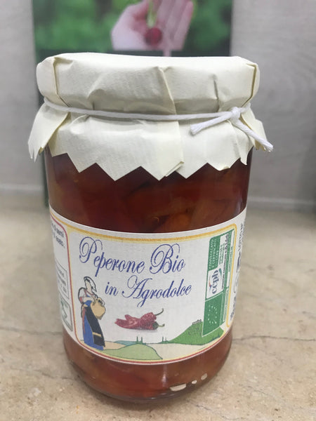 Peperoni in agrodolce Bio