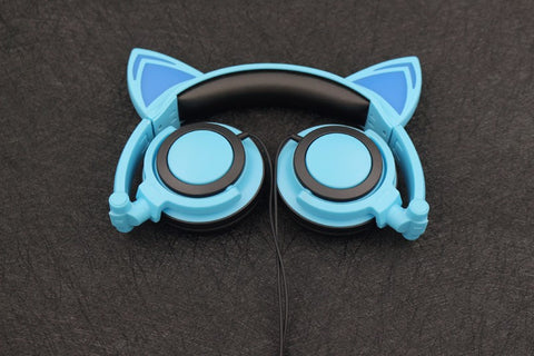 Cat LED Headphones