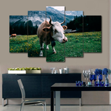 Cow Wall Art Canvas
