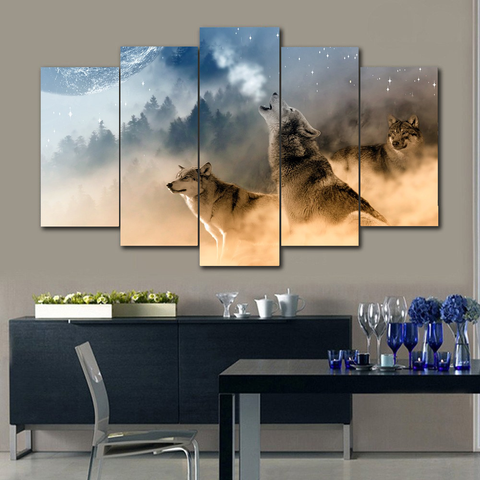 Wolves Limited Canvas