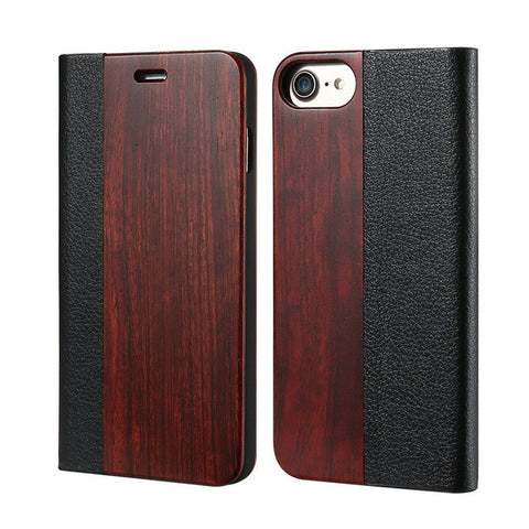 iPhone Wood Flip Case