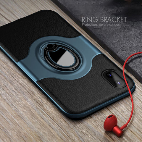 Luxury Magnetic Ring Case