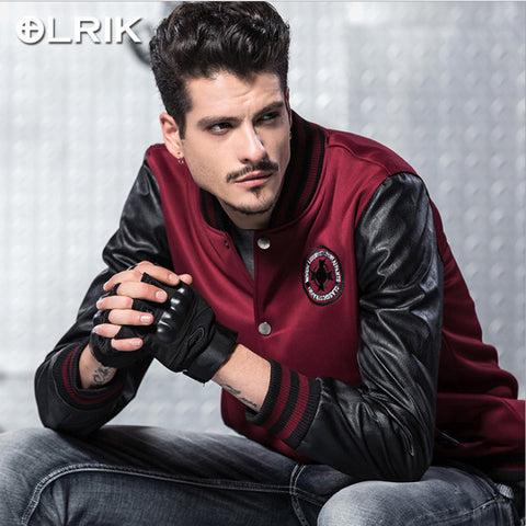 Men's Baseball Bomber Jacket
